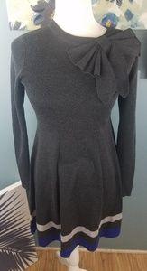 Eliza J Gray Sweater Dress Size XS